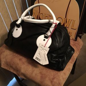 NWT AUTHENTIC CHARLES JOURDAN LEATHER PURSE